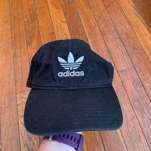 Adidas trefoil dad hat